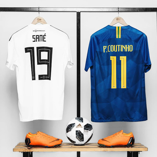 Adidas and Nike kits World Cup 2018 FashinFidelity.com