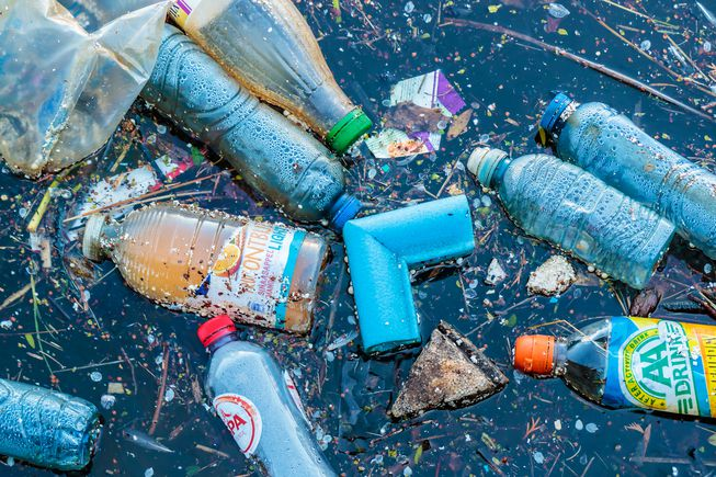 Plastic pollutants in our waterways
