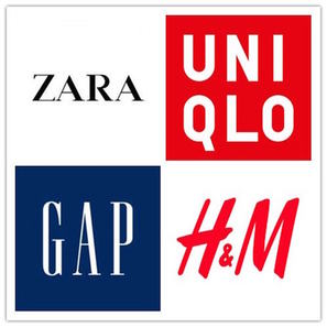 Fast Fashion brands